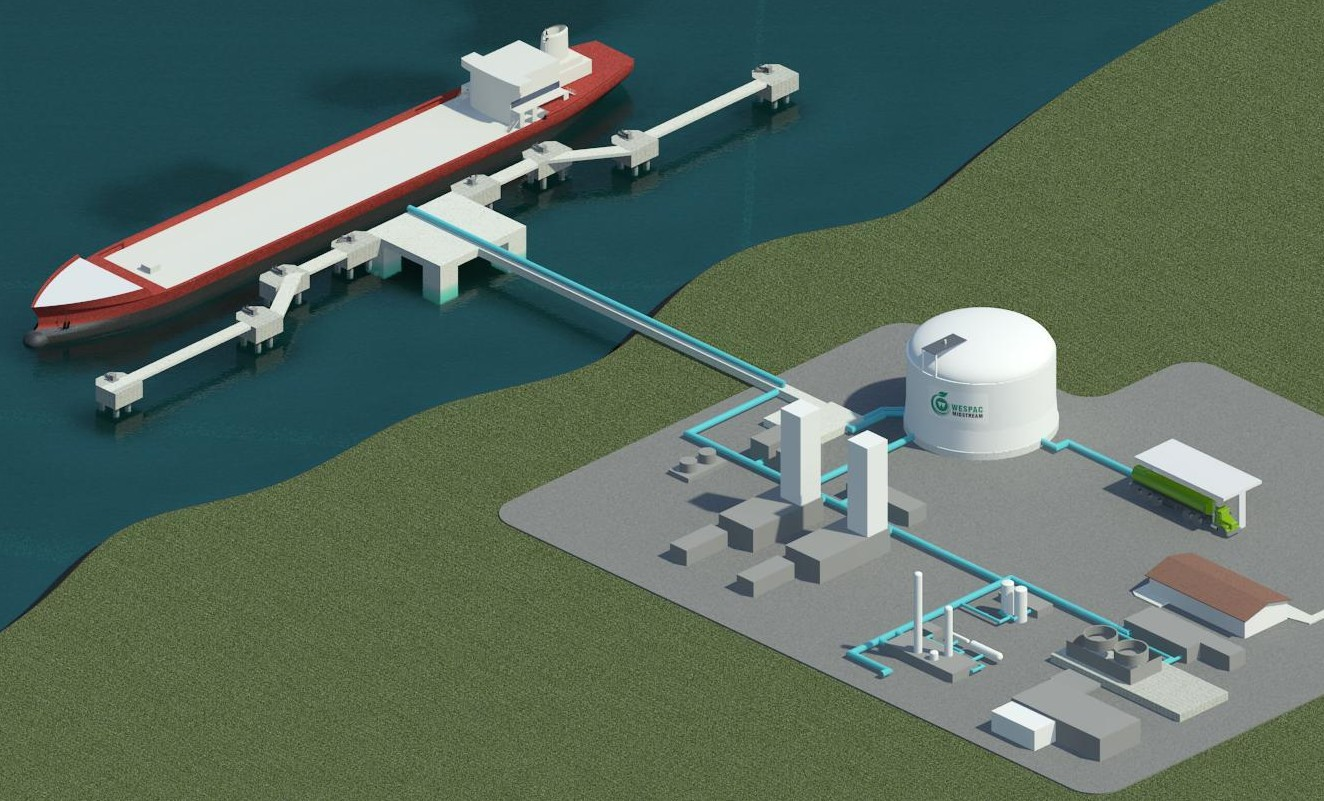 TYPICAL WESPAC LNG FACILITY